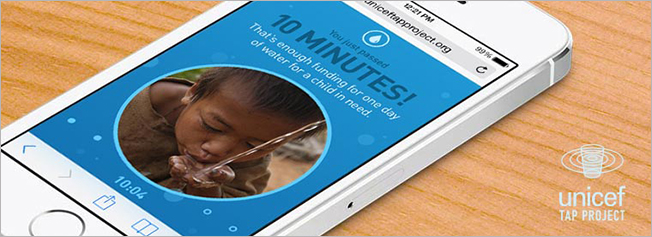 Live Without Your Phone 10 Minutes and Help a Child Living Without Clean Water