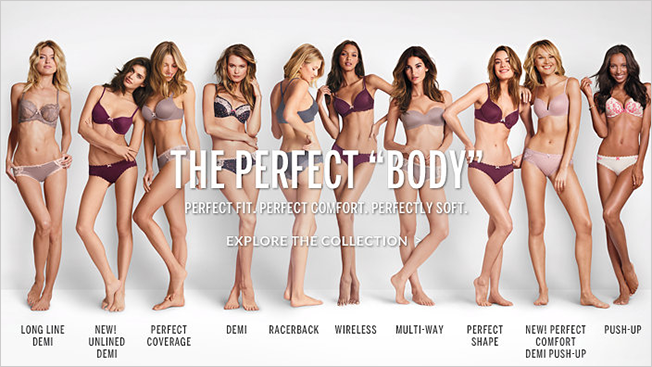 bf547aa2608b Real Beauty? Nah, Victoria's Secret Would Rather Celebrate the ...