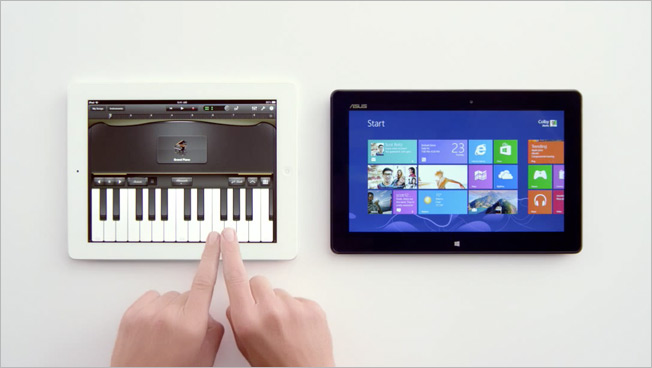Microsoft Humiliates Siri in Biting Parody of Apple's iPad Ads