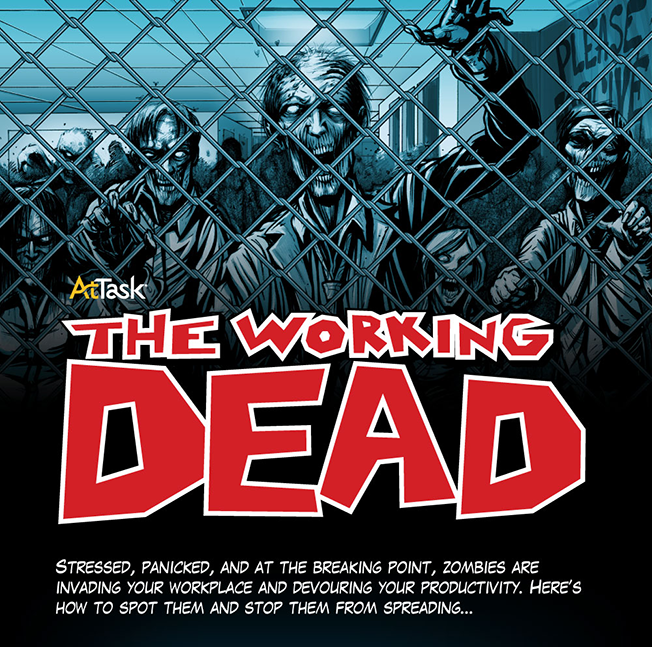 Infographic: 8 Types of 'Working Dead' Zombies Plaguing Your Productivity