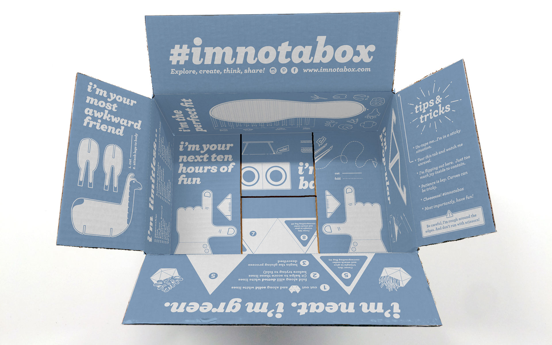 Zappos U2019 Cool New Shoebox Can Be Cut Up And Repurposed In A