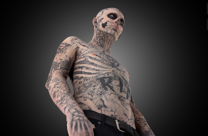 Dermablend App Gives You the Skinny on Super-Tattooed 'Zombie Boy'