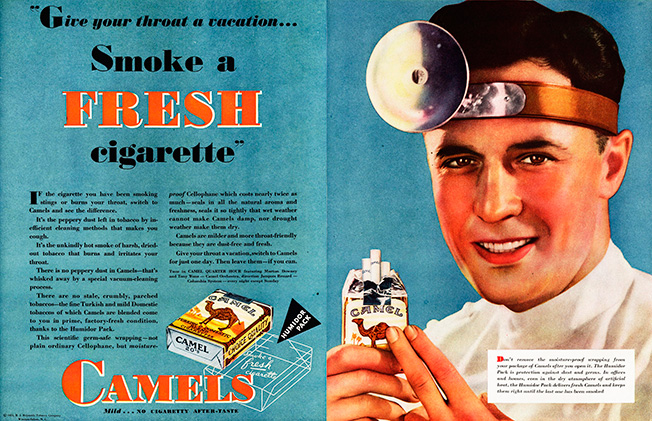 Throwback Thursday When Doctors Prescribed Healthy Cigarette