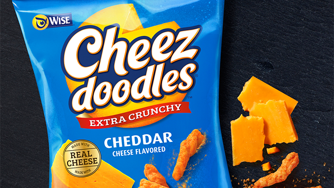 Check Out How Cheez Doodles Just Totally Cheesed Up Its New