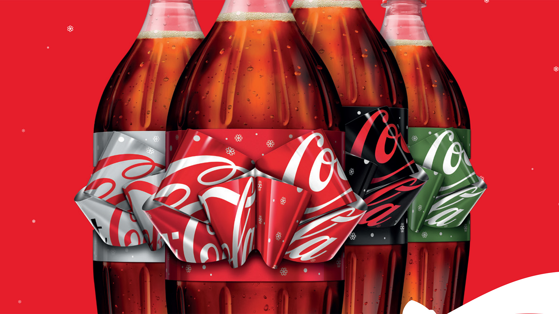 Coca Cola Christmas Bottle.Coca Cola S Ingenious Holiday Bottle Has A Label You Pull