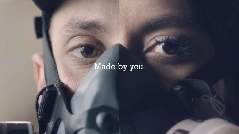 4f7c1dfd3556 This Interactive Split-Screen Film From Converse Is a Valentine s Ad You  Can Actually Stand – Adweek