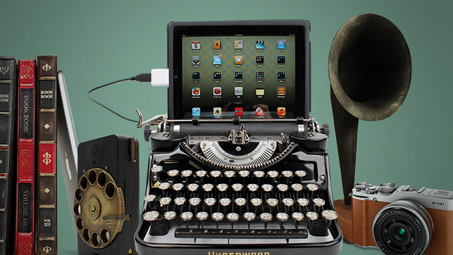 Some of Today's Coolest Digital Devices Take a Page From the Past