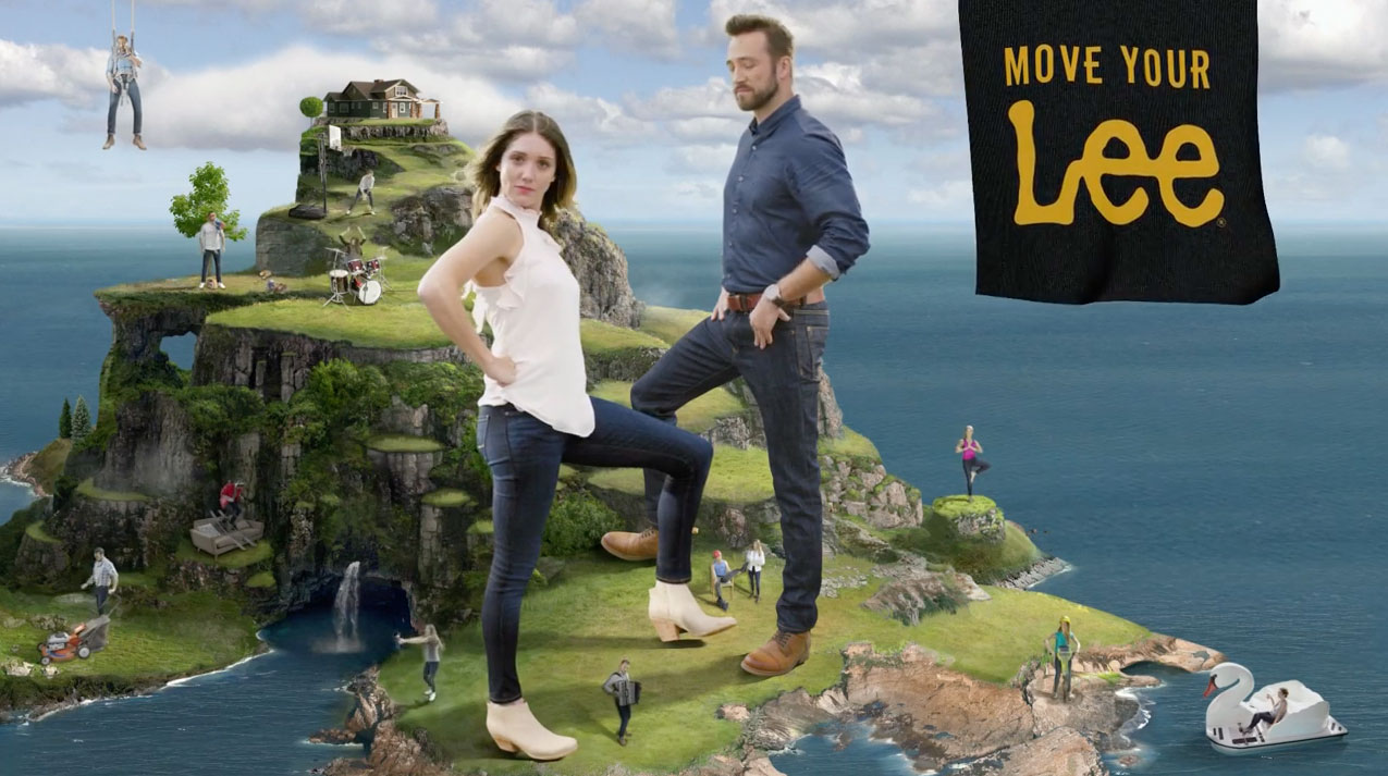The Lee Man and Lee Woman Do Ridiculous Lee Things in Jean