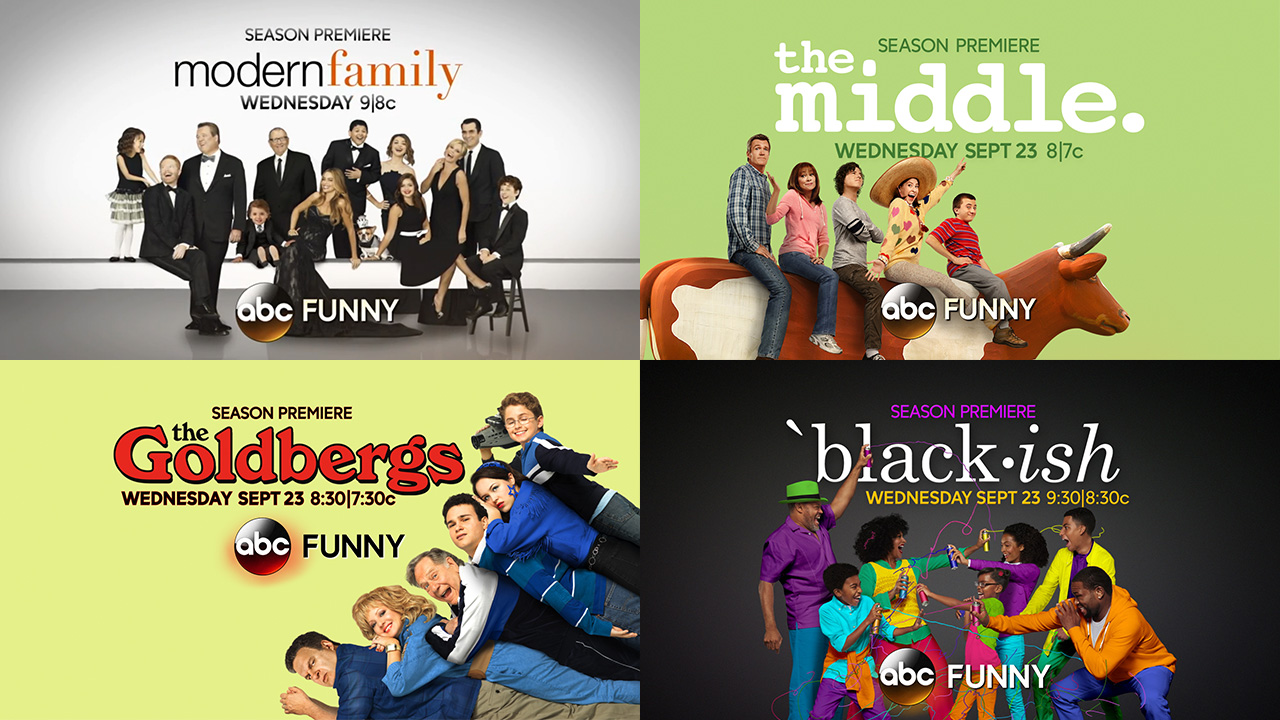 After Scoring Big With Tgit Abcs Its Wednesday Night Come S Abc Funny