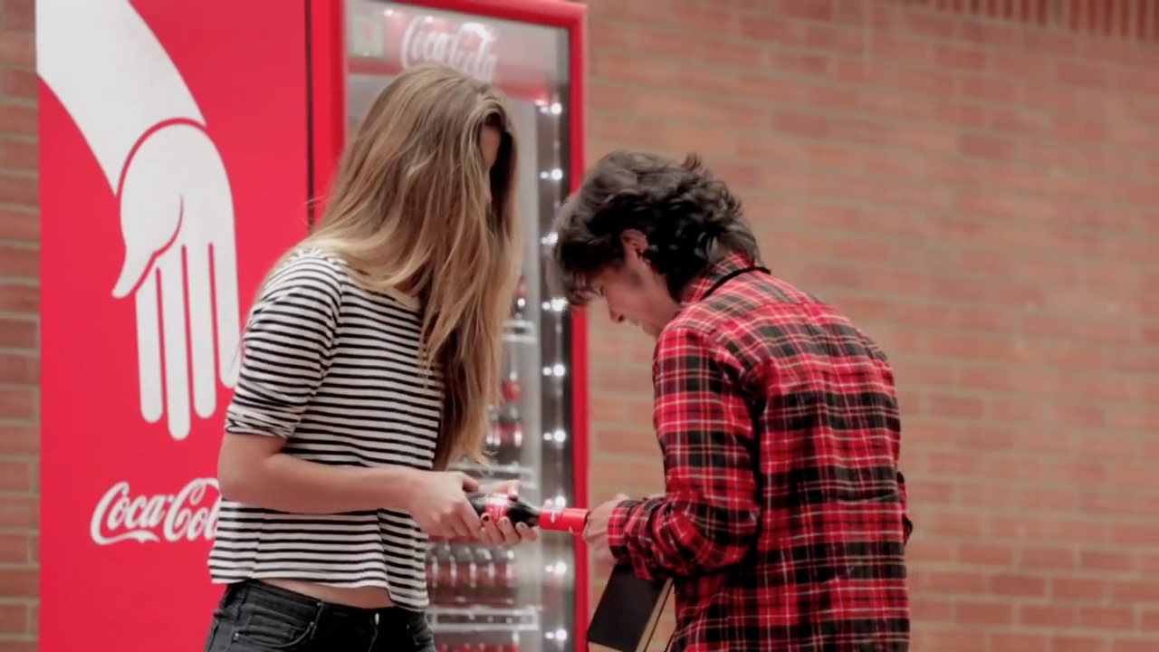 Ad of the Day: Coke Designs a Friendly Bottle That Can Only