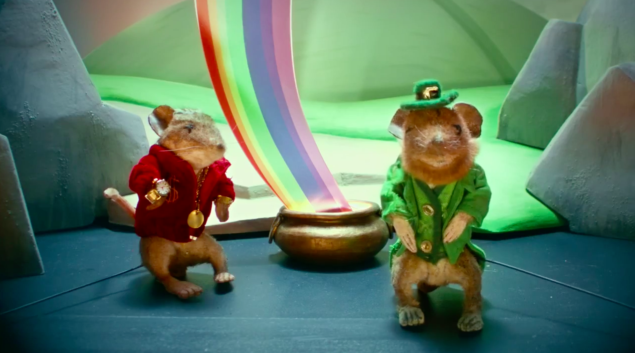 Ad of the Day: Dead Mice Act Out Plays in Strangest Pest-Control Ads Ever