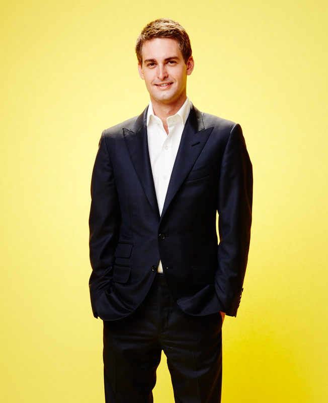 Why Snapchats Evan Spiegel Is Our Digital Executive Of The Year
