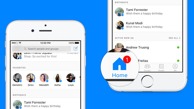 Facebook Messenger Is Adding A Home Button To Help Users Keep Track