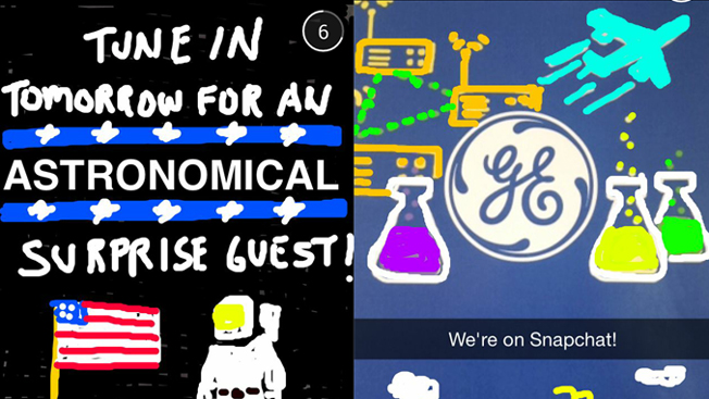 General Electric's First Snapchat Is One Small Step for Brand Kind