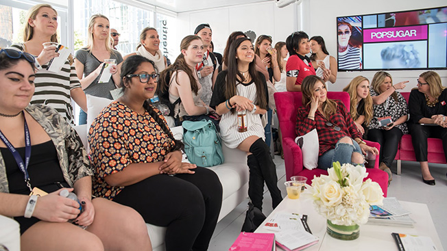 At Male-Dominated SXSW, a Girls' Lounge Aims to Facilitate the Power Manicure