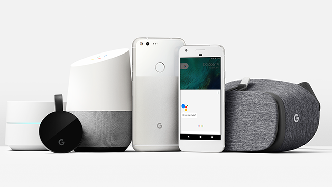 Google Debuts New Hardware, Including Smartphone and VR Headset