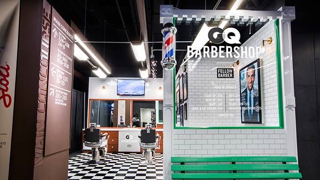 GQ to Open Barbershop at Barclays Center