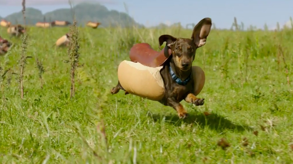 hot dog super bowl commercial