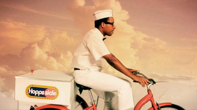 Jahmal Williams appears as the Hopps ice cream man