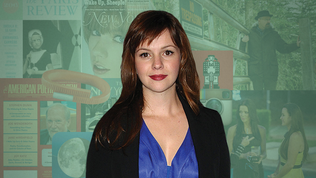 Amber Tamblyn Likes to Mix It Up With High-End Poetry and The Real Housewives