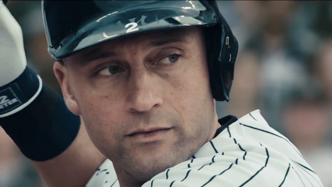 Ad of the Day  Proud New Yorkers (and a Few Other Familiar Faces) Tip Their  Hats to Derek Jeter. Jordan Brand s round of respect ... e0ce4bb9e0