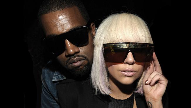 Kanye West and Lady Gaga