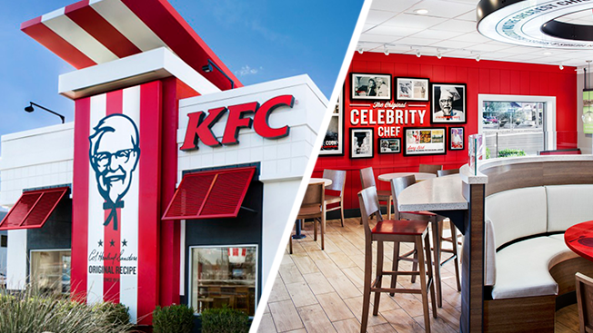 Fast Food Restaurants Are Getting Makeovers Arby S Kfc And Taco Bell Eal To Millennials