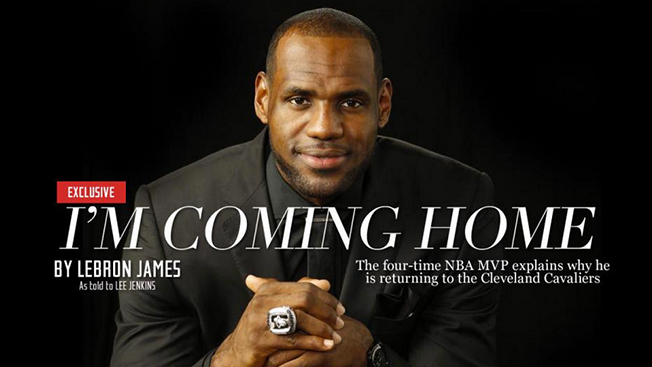 How Sports Illustrated Got the LeBron Scoop