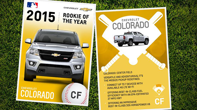 Chevy and MLB Ran an Unusually Cool Twitter Effort