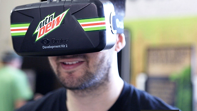 Can Oculus Rift Make Mountain Dew a Content Machine Like GoPro or Red Bull?