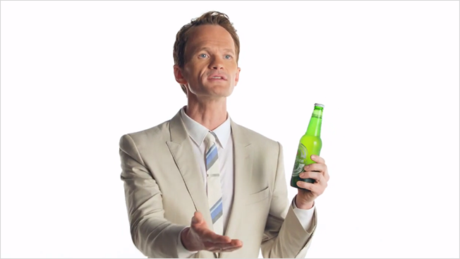 Image result for neil patrick harris heineken commercial headshots