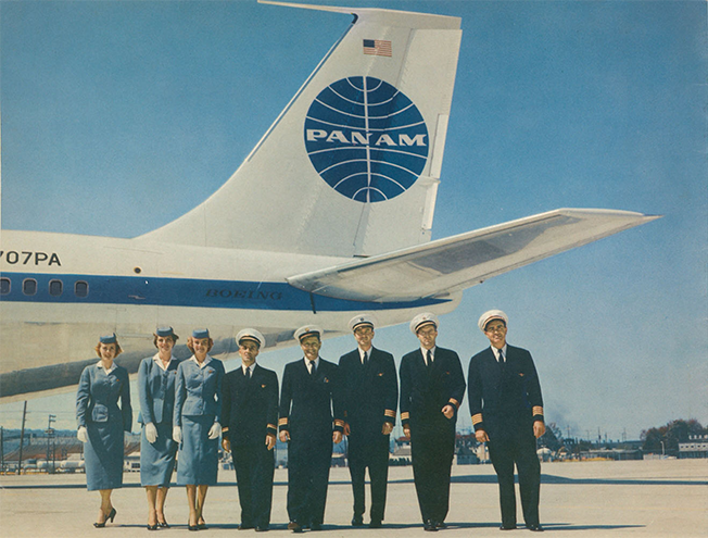 Pan Am S Soaring Brand Image Comes Alive In These