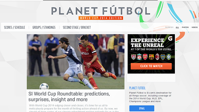 9f211bb08 Sports Illustrated Launches 'Planet Futbol' Site – Adweek