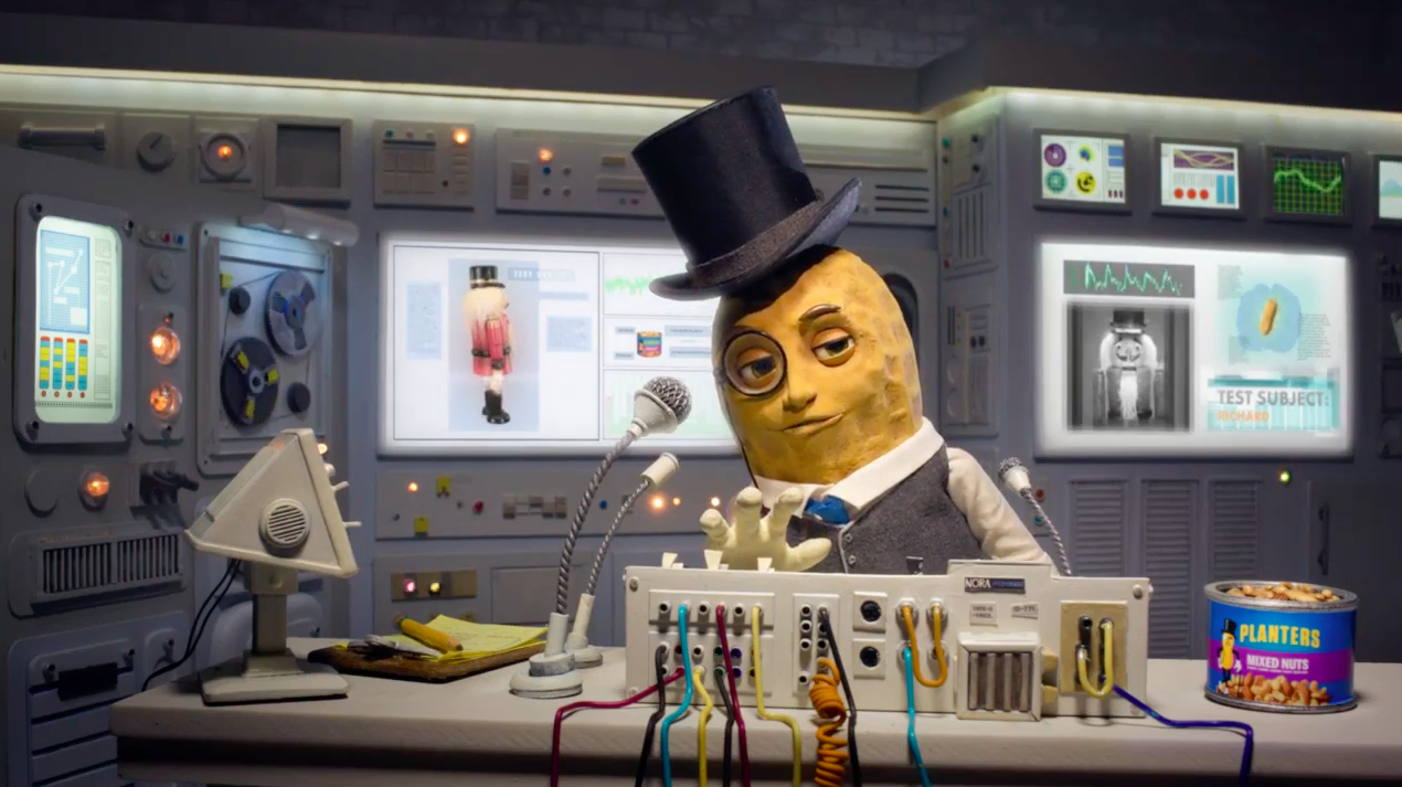Ad Of The Day Craving Mr Peanut Planters Animated