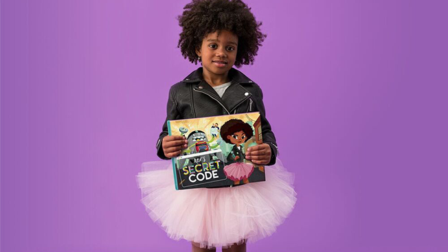 This Creative Director Made a Customizable Children's Book