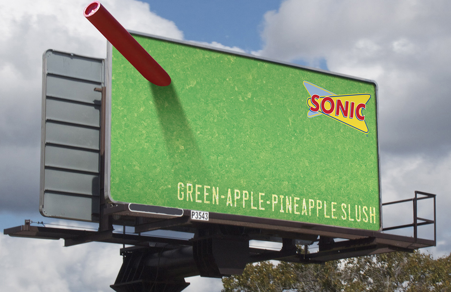 Sonic S 3 D Slushes Named The Year S Best Billboard Campaign At 2015 Obies Adweek