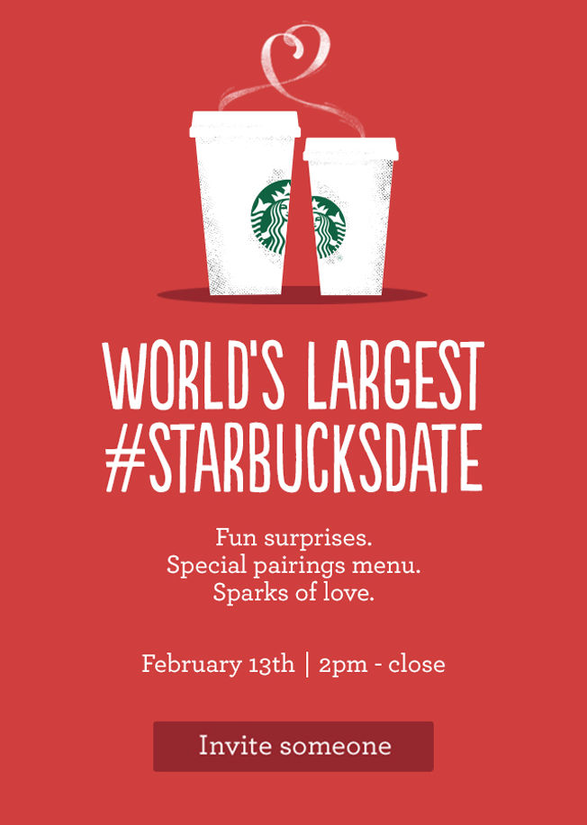 Need A Valentine S Day Date Match And Starbucks Have Plans For You