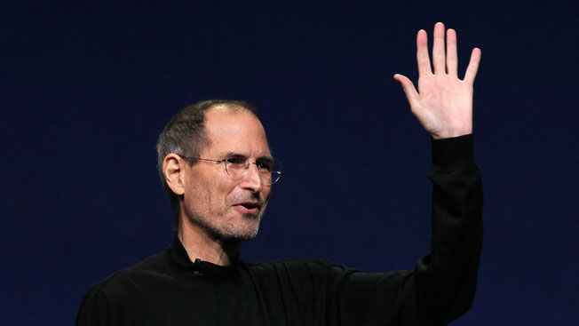 Apple chairman and now former CEO Steve Jobs