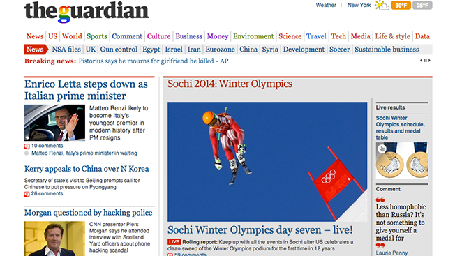 The Guardian's Unusual Take on Native Ads