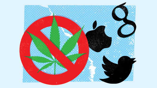 Marijuana Is Legal in Colorado, but Not on Google and Twitter