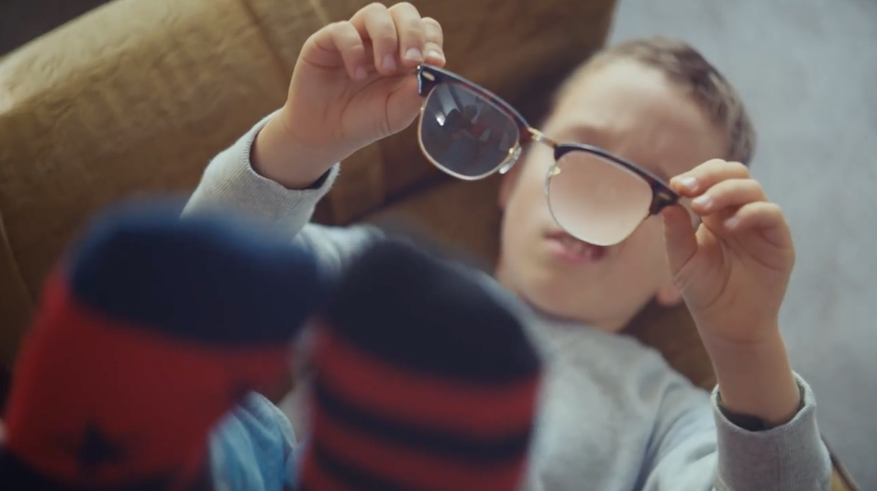 0bb62d9a813 Ad of the Day  Pearle Vision s Touching New Ad Stars a Boy and His Very  Special Glasses – Adweek