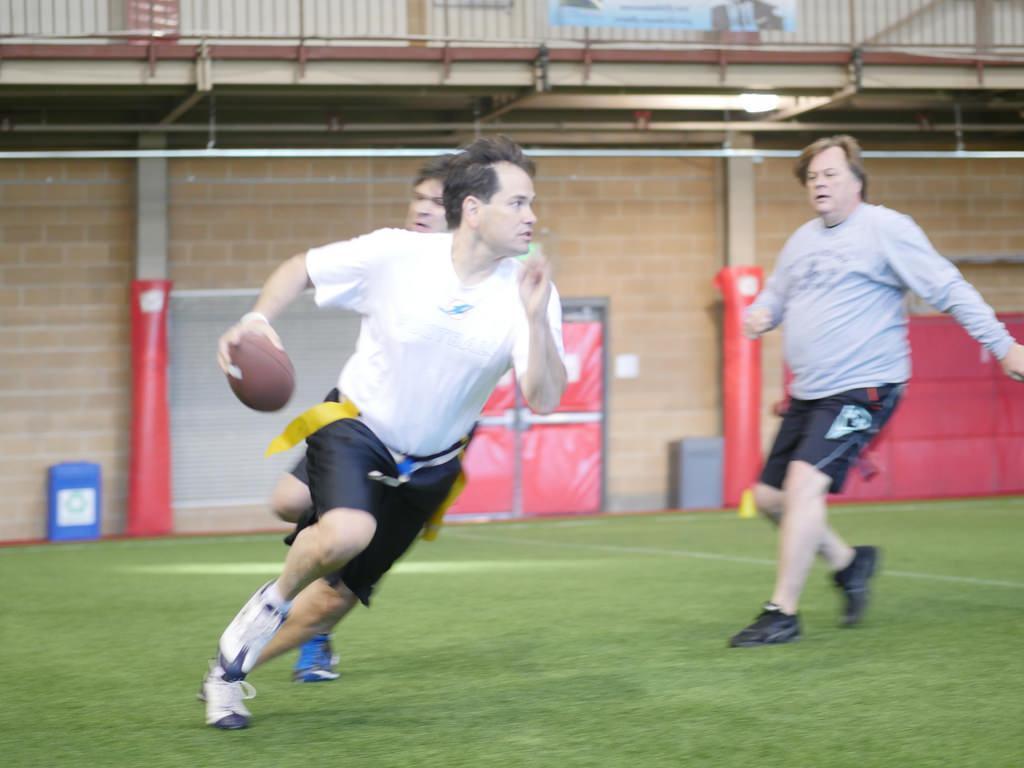Here\'s Marco Rubio Playing Football – Adweek