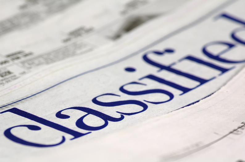 online classified ads like craigslist
