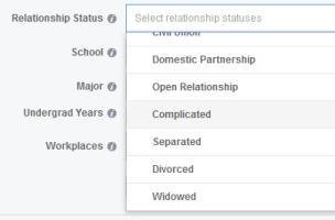 Separated relationship status