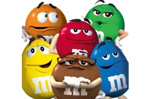 halloween m m s dominates other candy brands in facebook mentions