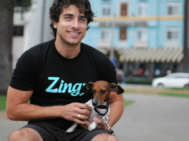 Zingy's On-Demand Dog Walking Service is Growing Fast on Mobile