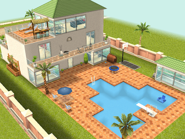 Electronic Arts Has Announced The Latest Content Update For The Sims  FreePlay On Mobile Devices. Centered On Home Design, This Dream Home Update  Gives ...