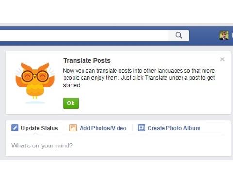 Facebook Testing Translation Tool? – Adweek