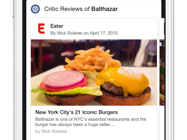facebook tests critics reviews on restaurant pages adweek