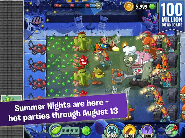 new plants vs zombies 2